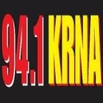 Logo da emissora Radio KRNA 94.1 FM