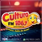 Logo da emissora Rádio Cultura 106.7 FM