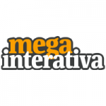 Logo da emissora Mega Interativa