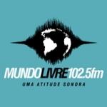 Logo da emissora Rádio Mundo Livre 102.5 FM