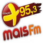 Logo da emissora Rádio Mais 95.3 FM