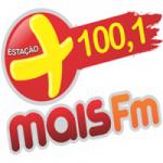 Logo da emissora Rádio Mais 100.1 FM