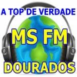 Logo da emissora Rádio Dourados 87.9 FM