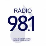 Logo da emissora Radio Comunitária FM 98.1