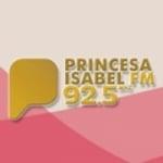 Logo da emissora Rádio Princesa Isabel 92.5 FM