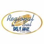 Logo da emissora Rádio Regional Sul FM 95.1