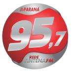 Logo da emissora Rádio Antena Hits 95.7 FM