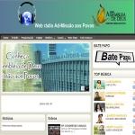 Logo da emissora Web Rádio Ad Missão Aos Povos