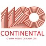 Logo da emissora Rádio Continental 1120