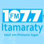 Logo da emissora Rádio Itamaraty 107.7 FM