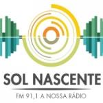 Logo da emissora Rádio Sol Nascente 91.1 FM