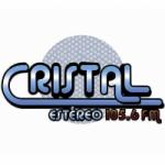 Logo da emissora Radio Cristal 105.6 FM