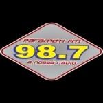 Logo da emissora Rádio Paramoti 98.7 FM