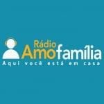 Logo da emissora Rádio Amo Família