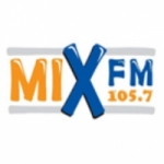 Logo da emissora Radio Mix FM Syria 105.7 FM
