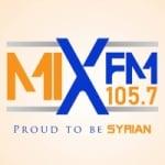 Logo da emissora Radio Mix 105.7 FM