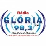 Logo da emissora Rádio Glória 98.3 FM