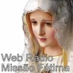 Logo da emissora Rádio Missão Fátima