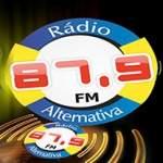 Logo da emissora Rádio Alternativa FM 87.9