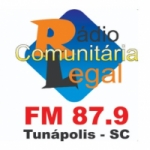 Logo da emissora Rádio Comunitária Legal FM 87.9