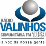 Logo da emissora Rádio Valinhos FM 105.9