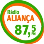 Logo da emissora Rádio Aliança FM 87.5