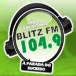 Logo da emissora Rádio Blitz FM 104.9