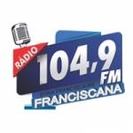Logo da emissora Rádio Franciscana FM 104.9