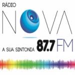 Logo da emissora Rádio Nova FM 87.7