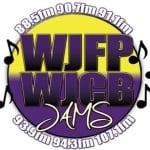 Logo da emissora WJFP 91.1 FM