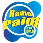 Logo da emissora Rádio Paim FM 104.9