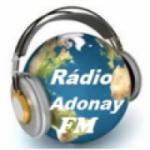 Logo da emissora Rádio Adonay FM