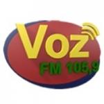 Logo da emissora Rádio Voz Cianorte 105.9 FM
