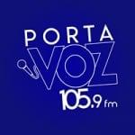 Logo da emissora Radio Porta Voz 105.9 FM