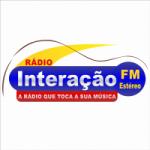 Logo da emissora Rádio Interação FM