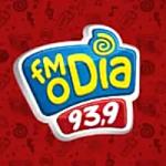 Logo da emissora Rádio FM O Dia 93.9 FM