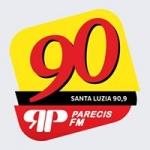 Logo da emissora Rádio Parecis 90.9 FM