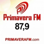 Logo da emissora Rádio Primavera 87.9 FM