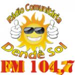 Logo da emissora Rádio Comunitária Dendê Sol 104.7 FM