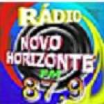Logo da emissora Rádio Novo Horizonte 87.9 FM