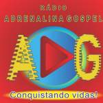 Logo da emissora Rádio Adrenalina Gospel