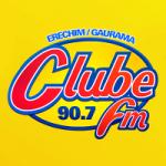 Logo da emissora Rádio Clube 90.7 FM