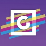 Logo da emissora Rádio Gazeta 100.3 FM