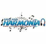 Logo da emissora Rádio Nova Harmonia Web