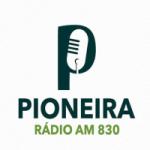 Logo da emissora Rádio Pioneira 830 AM