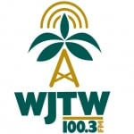 Logo da emissora WJTW 100.3 FM