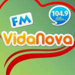 Logo da emissora Rádio Vida Nova 104.9 FM