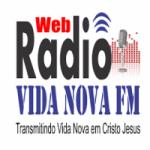 Logo da emissora Web Rádio Vida Nova FM