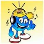 Logo da emissora Rádio Terra 100.1 FM