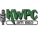 Logo da emissora Radio KWPC 860 AM